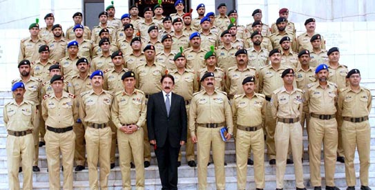 List of Attorney General of Pakistan Army