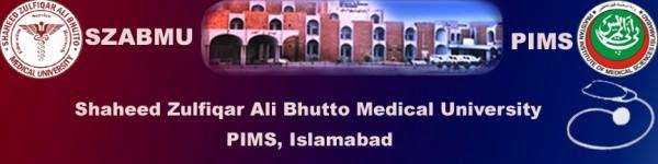 Pakistan Institute of Medical Sciences Gilgit Baltistan Admission 2018 Application Form