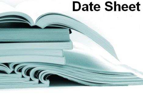 Bise Sargodha Board Supply Date Sheet 9th 10th 11th 12th Class 2018 bisesargodha