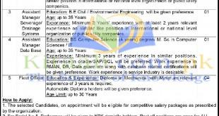 Water and Sanitation Services Peshawar KPK Jobs 2021 Last Date Registration Form