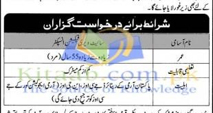 Punjab Education Foundation Site Verification Inspector Jobs 2021 Registration Form Eligibility Dates