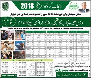 Tevta Pakistan Lahore Islamabad Technical Short Courses Admission 2017 Rawalpindi Multan Gujranwala Application Form Download