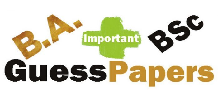 All Universities BA BSc Undergraduate Model Papers Sample Papers Download Online Preview General and Sciences Group Part 1 Past Papers Syllabus