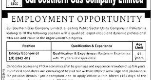 Pakistan Sui Southern Gas Company SSGC Jobs 2021 Online Application