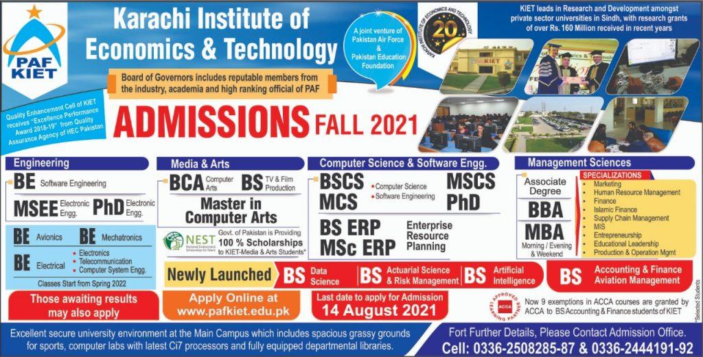 Karachi Institute of Economics and Technology KIET