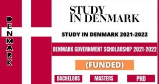 Denmark Government Scholarships 2021 How to Apply Online Eligibility Criteria Last Date