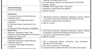 Karachi Shipyard and Engineering Works Jobs 2021 Last Date for Applying