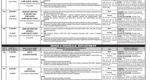 PPSC Punjab Mines and Mineral Department Jobs 2021 Apply Online Schedule and Dates