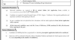 PCAA Pakistan Civil Aviation Authority Jobs 2021 Application Forms Eligibility Criteria