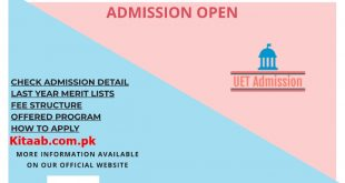 UET Peshawar Sub Campus Kohat Campus Admission 2021 ECAT Test Answer Key Result Merit List Electrical Mechanical Civil Engineering College in KPK